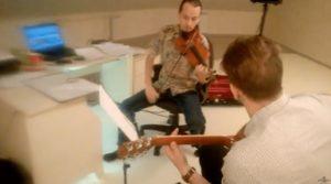 Уроки скрипки и гитары