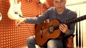 Правильная постановка рук на гитаре